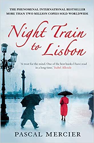 EUU Book Club is reading Night Train to Lisbon by Pascal Mercier
